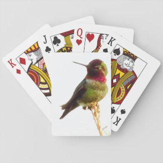 """Cartes de jeu de """"colibri"""" jeux de cartes"""