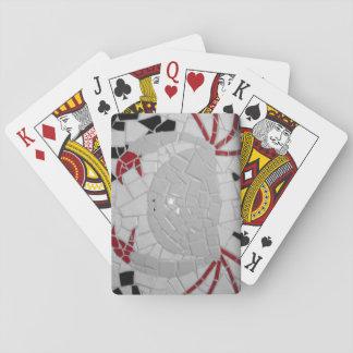 Cartes de jeu de crabe jeu de cartes