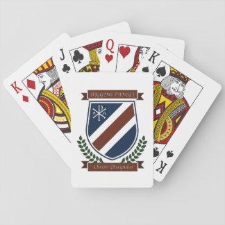 Cartes de jeu de crête de famille de Higgins Cartes À Jouer