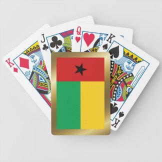Cartes de jeu de drapeau de la Guinée-Bissau Cartes À Jouer
