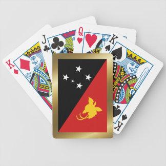 Cartes de jeu de drapeau de la jeu de cartes
