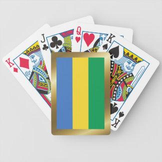 Cartes de jeu de drapeau du Gabon Jeu De Cartes