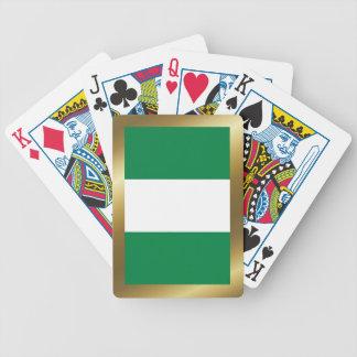 Cartes de jeu de drapeau du Nigéria Jeu De Cartes