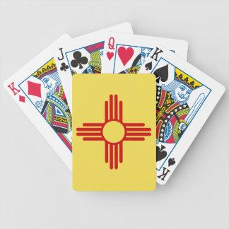 Cartes de jeu de drapeau du Nouveau Mexique Jeu De Cartes