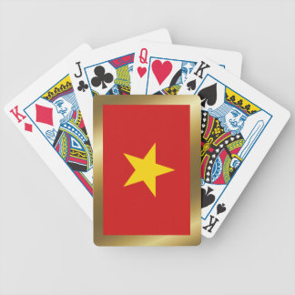 Cartes de jeu de drapeau du Vietnam Cartes À Jouer