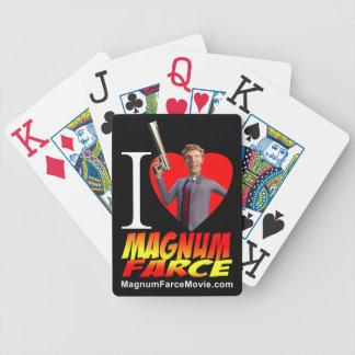 Cartes de jeu de farce de magnum jeux de cartes