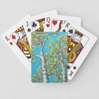 Cartes de jeu de floraison de CreativiTree Jeu De Cartes