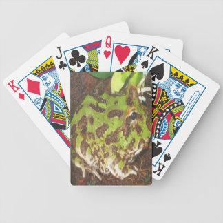 Cartes de jeu de grenouille de Pacman Jeu De Poker