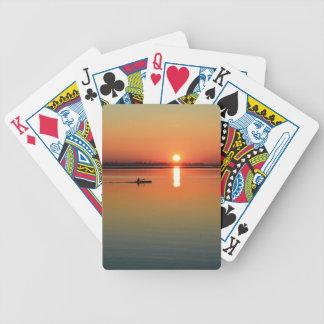 Cartes de jeu de kayak cartes à jouer