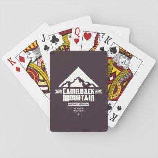 Cartes de jeu de montagne de Camelback (foncée) - Cartes À Jouer
