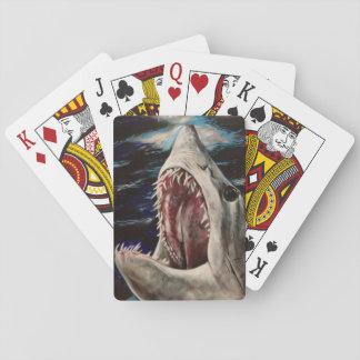 Cartes de jeu de peinture de requin de Mako Jeux De Cartes