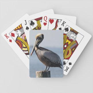 Cartes de jeu de pélican cartes à jouer