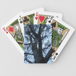 Cartes de jeu de photographie de silhouette jeu de cartes