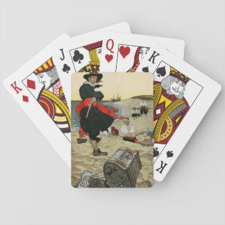 Cartes de jeu de pirate jeux de cartes