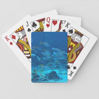 Cartes de jeu de poissons d'aquarium jeux de cartes