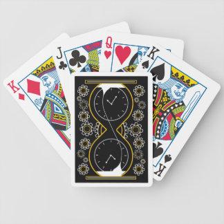 Cartes de jeu de rouages jeu de cartes