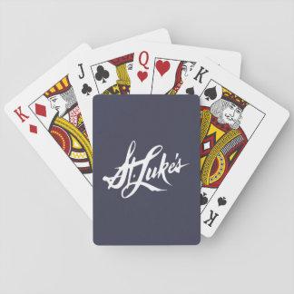 Cartes de jeu de St Luke Cartes À Jouer