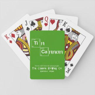 Cartes de jeu de Tableau périodique de canon de Jeux De Cartes