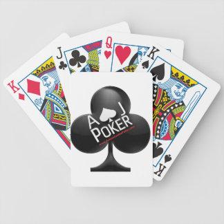 Cartes de jeu de tisonnier - tisonnier de drogué jeu de cartes