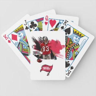 Cartes de jeu de Vincent Jackson Jeu De Poker