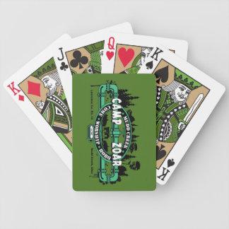 Cartes de jeu de Zoar de camp Cartes À Jouer
