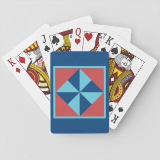 Cartes de jeu d'édredon - bloc de soleil cartes à jouer