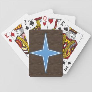 Cartes de jeu d'étoile de MJ Jeu De Cartes