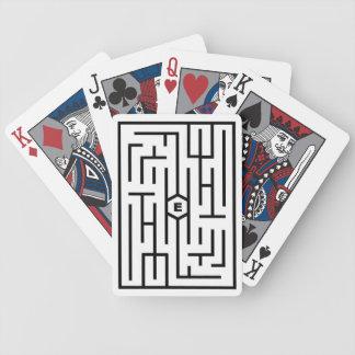 Cartes de jeu d'évasion jeux de cartes
