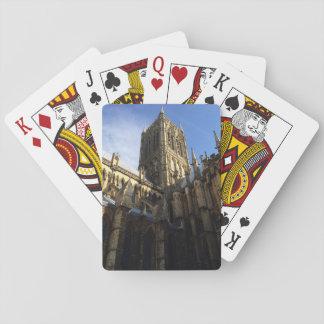 Cartes de jeu d'héritage de cathédrale de Lincoln Jeu De Cartes
