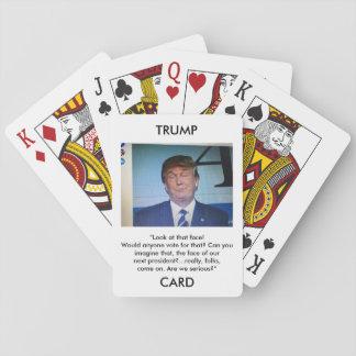 Cartes de jeu d'image/citation de Donald Trump Jeu De Cartes