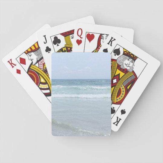 Cartes de jeu d'océan jeu de cartes