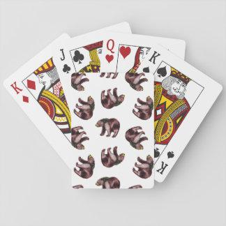 Cartes de jeu d'ours cartes à jouer