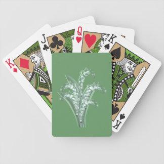 Cartes de jeu du muguet jeu de cartes