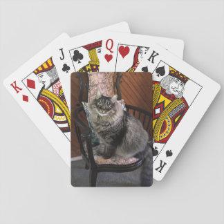 Cartes de jeu du Roi Cat Kimber Cartes À Jouer