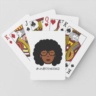 Cartes de jeu d'Unbothered Jeux De Cartes