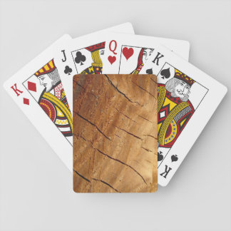 Cartes de jeu en bois cartes à jouer