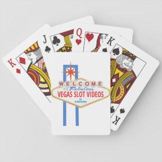 Cartes de jeu fabuleuses de vidéos de fente de cartes à jouer