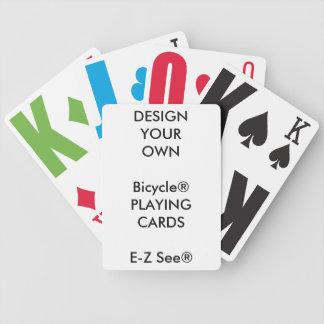 Cartes de jeu faites sur commande de gros jeux de cartes