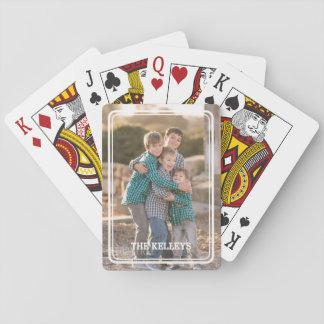 Cartes de jeu faites sur commande de photo cartes à jouer