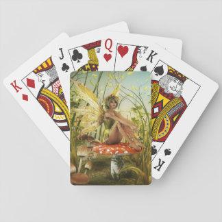 Cartes de jeu féeriques d'été indien de la jeu de cartes