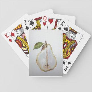 Cartes de jeu intérieures de poire (voir la poire) jeu de cartes
