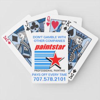 Cartes de jeu officielles de Paintstar Jeu De Poker