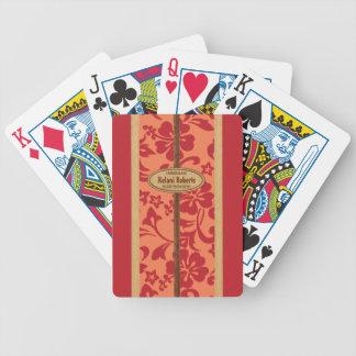 Cartes de jeu personnalisables de planche de surf jeu de cartes poker