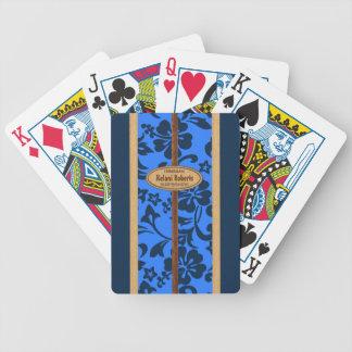 Cartes de jeu personnalisables de planche de surf jeu de poker