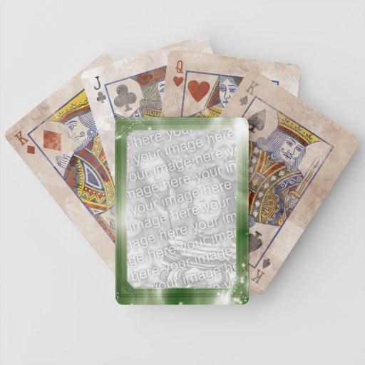 Cartes de jeu personnalisées de Bicycle® de cadre  Cartes À Jouer