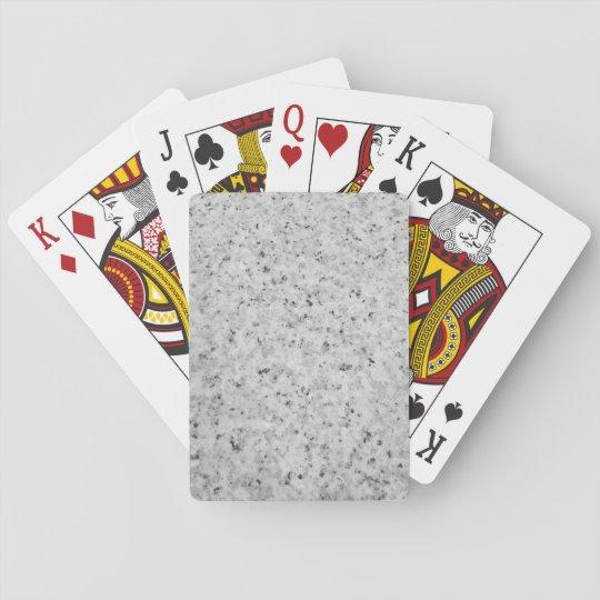 Cartes de jeu repérées de conception cartes à jouer