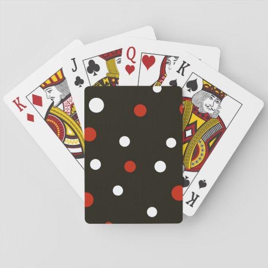 Cartes de jeu repérées de conception jeu de cartes