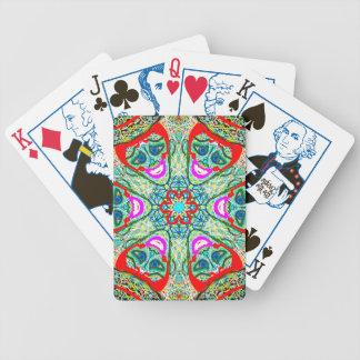 """Cartes de jeu sacrées de """"Timotea"""" de la géométrie Jeu De Cartes"""
