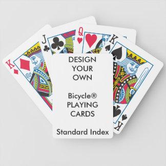 Cartes de jeu STANDARD d'INDEX de Bicycle® Jeu De Poker