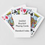Cartes de jeu standard faites sur commande de jeu de cartes